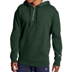 Powerblend fleece quarter zip hoodie